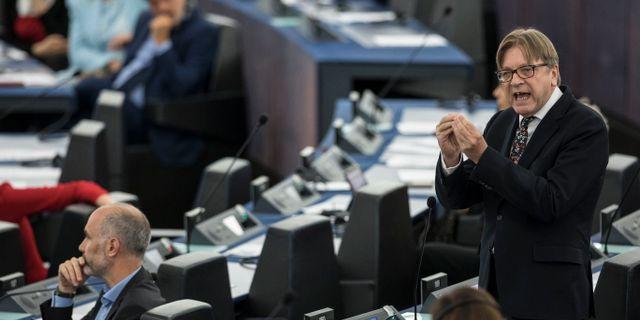 Guy Verhofstadt. m Jean-Francois Badias / TT NYHETSBYRÅN