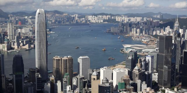 Hongkong.  Kin Cheung / TT NYHETSBYRÅN/ NTB Scanpix