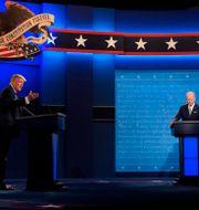 Donald Trump och Joe Biden Julio Cortez / TT NYHETSBYRÅN