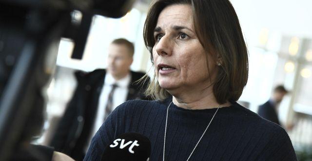 Isabella Lövin (MP). Claudio Bresciani/TT / TT NYHETSBYRÅN