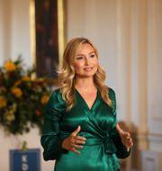 Ebba Busch.  Ali Lorestani/ TT / TT NYHETSBYRÅN