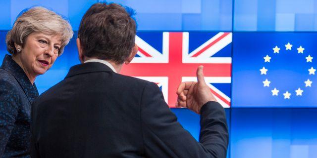 Theresa May. Geert Vanden Wijngaert / TT NYHETSBYRÅN/ NTB Scanpix