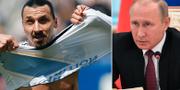 """Zlatan Ibrahimovic ser sig som """"en Putin"""", säger han.  TT"""