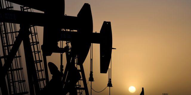 Illustrationsbild: Oljepumpar i Midland, Texas.  Nick Oxford / TT NYHETSBYRÅN