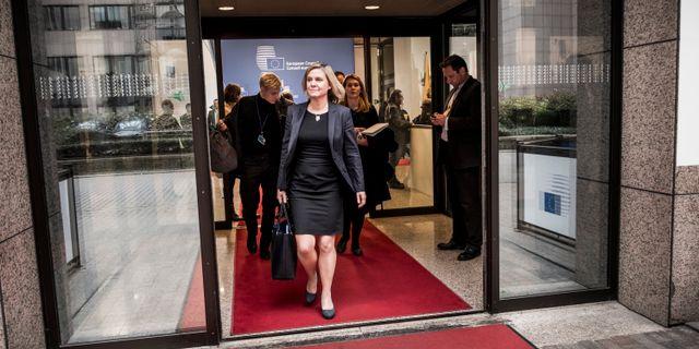 Finansminister Magdalena Andersson. Magnus Hjalmarson Neideman/SvD/TT / TT NYHETSBYRÅN