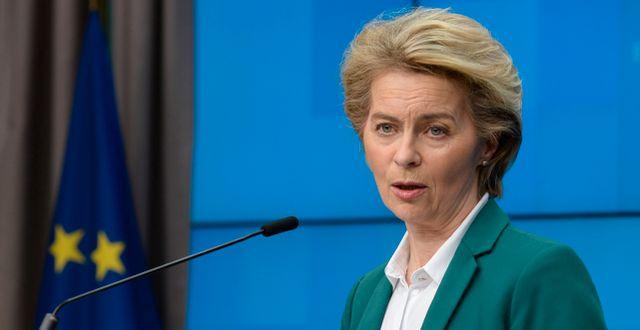 Ursula von der Leyen. Johanna Geron / TT NYHETSBYRÅN