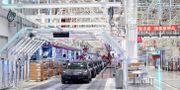 Teslas fabrik i Shanghai.  Aly Song / TT NYHETSBYRÅN
