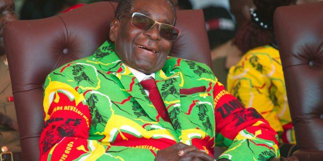 Robert Mugabe. Arkivbild. Tsvangirayi Mukwazhi / TT / NTB Scanpix
