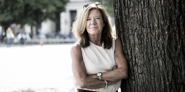 Lena Apler, styrelseordförande i Collector. TT.