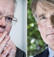 Lundberg och Cevians Christer Gardell. Arkivbilder. TT