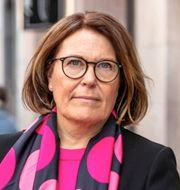 Svensk Handels vd Karin Johansson. Press/TT