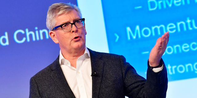 Ericssons vd Börje Ekholm. Arkivbild. Jonas Ekströmer/TT / TT NYHETSBYRÅN