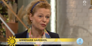 Postnords vd Annemarie Gardshol.  TV4
