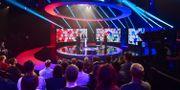 Johnson och Corbyn möttes i BBC:s debatt igår kväll – den sista inför valet.  Jeff Overs / TT NYHETSBYRÅN