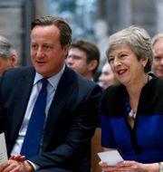 David Cameron och Theresa May. Arkivbild. Henry Nicholls / TT NYHETSBYRÅN