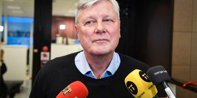 Lars Ohly. Anders Wiklund/TT / TT NYHETSBYRÅN