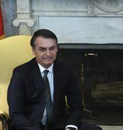 Bolsonaro och Trump  BRENDAN SMIALOWSKI / AFP