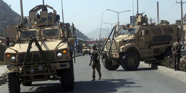 Soldater från Nato-styrkan Resolute Support Mission i Afghanistan. Arkivbild. Massoud Hossaini / TT / NTB Scanpix
