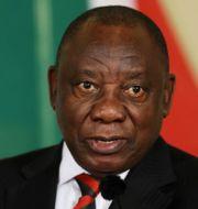 Cyril Ramaphosa. Arkivfoto. Siphiwe Sibeko / TT NYHETSBYRÅN