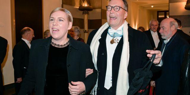 Horace Engdahl och Stina Otterberg Anders Wiklund/TT / TT NYHETSBYRÅN
