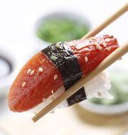 Vegan raw tuna analogue 'Tunato'. Image: Mimic Seafood