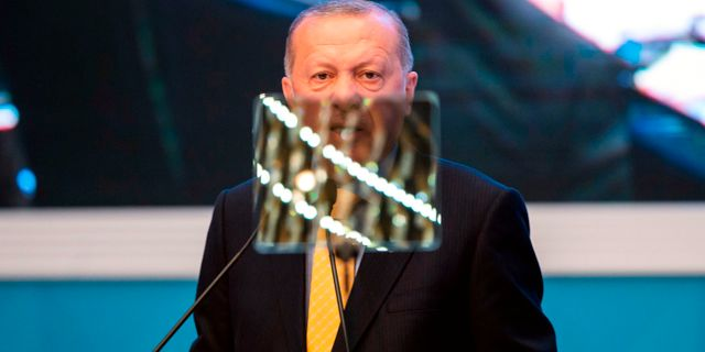 Recep Tayyip Erdogan.  YASIN AKGUL / AFP