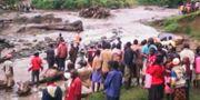 Jordskred i Bukalasii Uganda. AGGREY NYONDWA / UGANDA RED CROSS