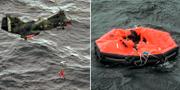Bilder från räddningsarbetet, 28 september 1994.  TT
