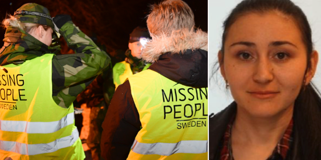 Arkivbilder på Missing People och Velmira. TT