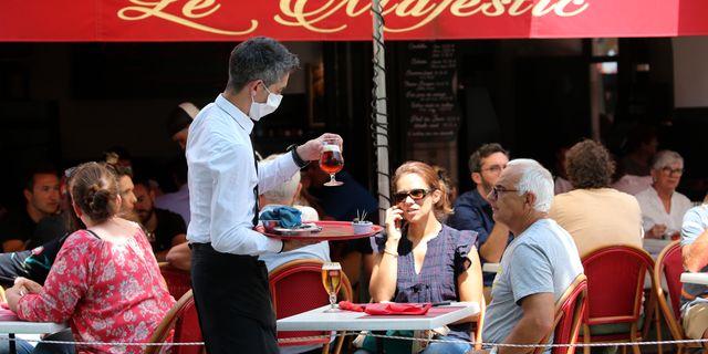 Paris, idag. Bob Edme / TT NYHETSBYRÅN