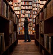 Illustrationsbild, bibliotek/Joshua Wong TT