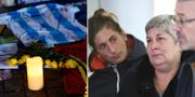 Salas syster och familj har rest till Storbritannien.  Joe Giddens / TT NYHETSBYRÅN