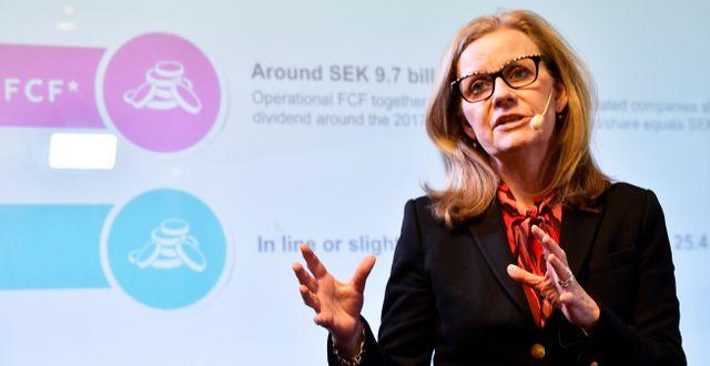 Hélène Barnekow var tidigare vd för Telia Sverige.  Hossein Salmanzadeh/TT / TT NYHETSBYRÅN