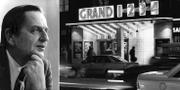Olof Palme/biografen Grand på Sveavägen. TT