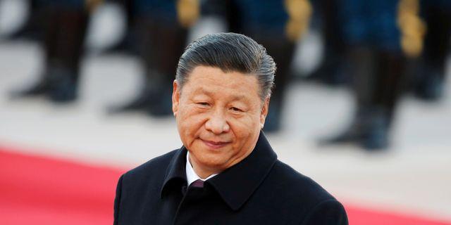 Xi Jinping. Florence Lo / TT NYHETSBYRÅN
