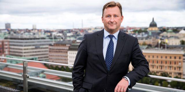 Björn Jansson, vd och koncernchef på Carnegie. Kristian Pohl