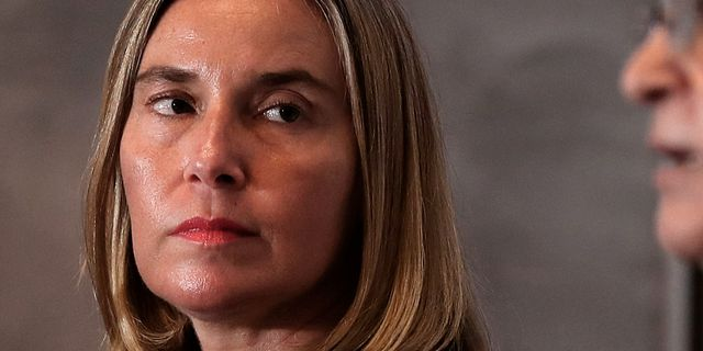 EU:s utrikeschef Federica Mogherini. Hadi Mizban / TT NYHETSBYRÅN/ NTB Scanpix