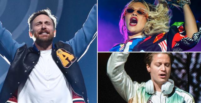 David Guetta/Rita Ora/Kygo. TT