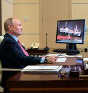 Putin.  Alexei Druzhinin / TT NYHETSBYRÅN