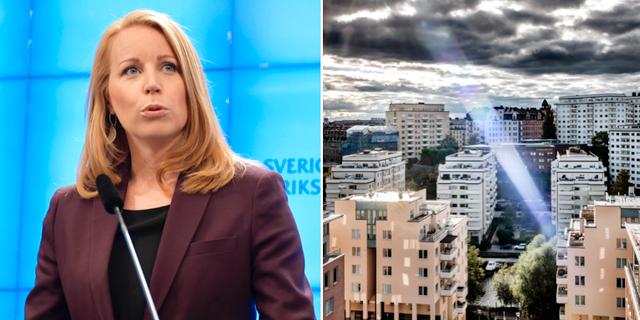Annie Lööf (C) har drivit frågan om friare hyressättning TT