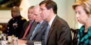 Mark Esper under ett mötet i Pentagon den 29 juli. Andrew Harnik / TT NYHETSBYRÅN/ NTB Scanpix
