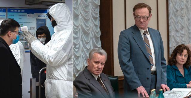 """Recensioner av tv-serien """"Chernobyl"""" översvämmade plötsligt den kinesiska plattformen Douban. TT"""