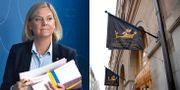Finansminister Magdalena Andersson (S), Stockholms handelskammare. Arkivbilder. TT