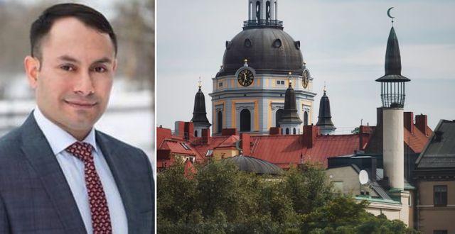 Mikail Yüksel/moské i Stockholm. TT