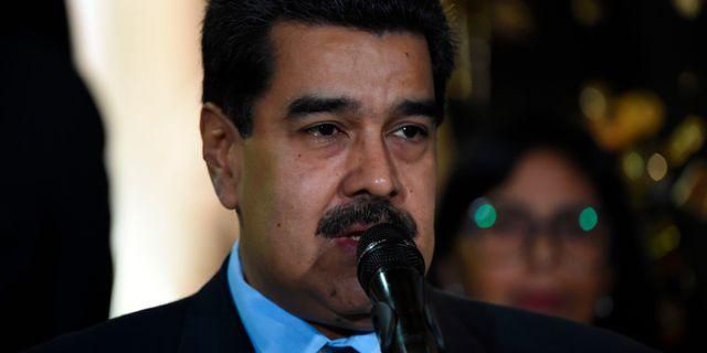 Venezuelas president Nicolas Maduro.  YURI CORTEZ / AFP