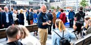 Jan Björklund kampanjar i Stockholm.  Henrik Montgomery/TT / TT NYHETSBYRÅN