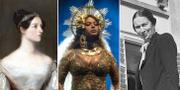 Ada Lovelace, Beyoncé Knowles och Marie Anne Tellegen. Wiki/TT/Wiki.