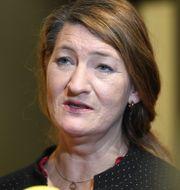 LO-basen Susanna Gideonsson. Fredrik Sandberg/TT / TT NYHETSBYRÅN
