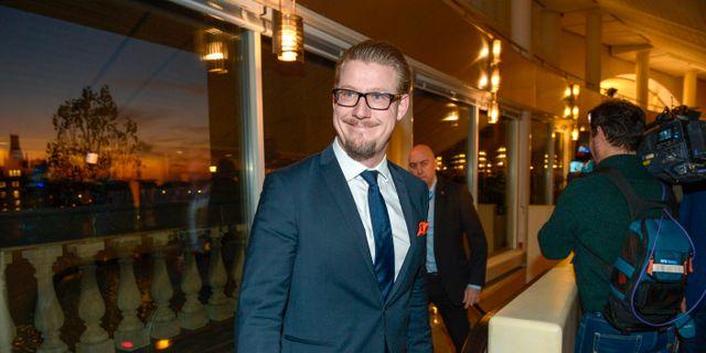 Linus Bylund. JANERIK HENRIKSSON / TT / TT NYHETSBYRÅN