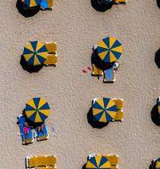 Arkivbild. Gran Canaria i augusti. Emilio Morenatti / TT NYHETSBYRÅN